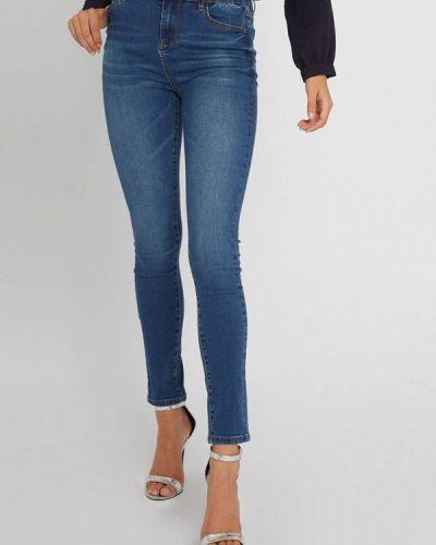 Синие джинсы-скинни узкого кроя Morgan