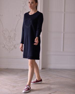 Платье из футера Mix-mode