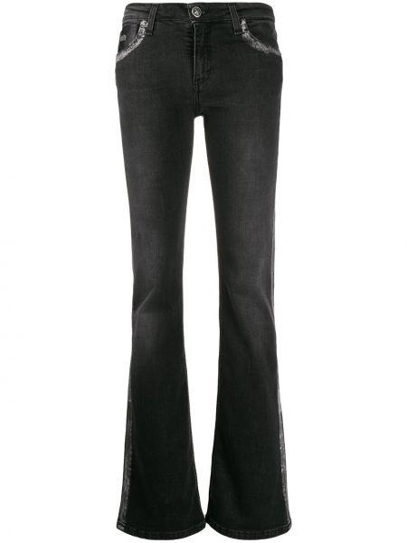 Расклешенные джинсы на пуговицах с карманами John Richmond
