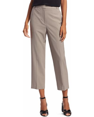 Spodnie eleganckie wełniane z paskiem Tibi