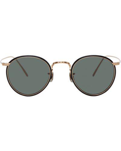 Okulary przeciwsłoneczne srebro tytan Eyevan 7285