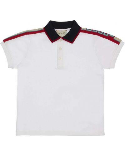 Koszulka polo z logo Gucci