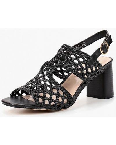 Черные босоножки на каблуке Dorothy Perkins