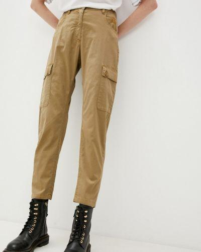 Повседневные коричневые брюки Aeronautica Militare