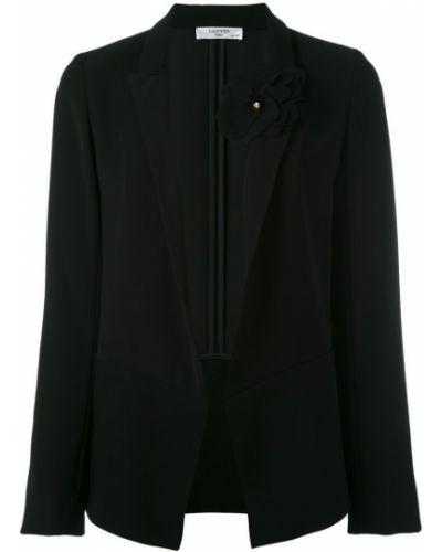 Пиджак без застежек прямой Lanvin