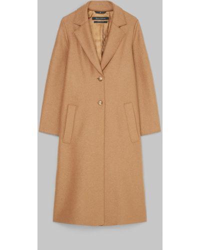 Коричневое пальто Marc O`polo
