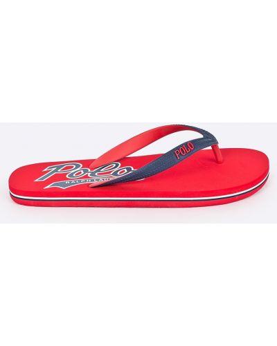 Красные сандалии Polo Ralph Lauren