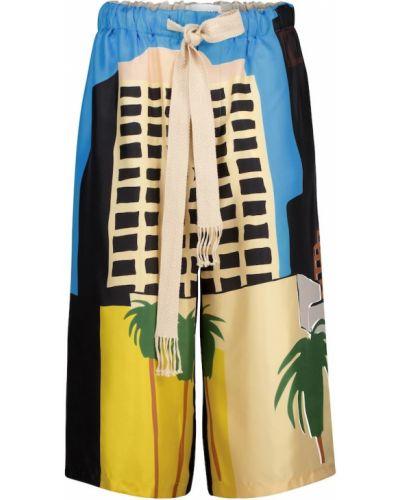 Шелковые шорты Loewe
