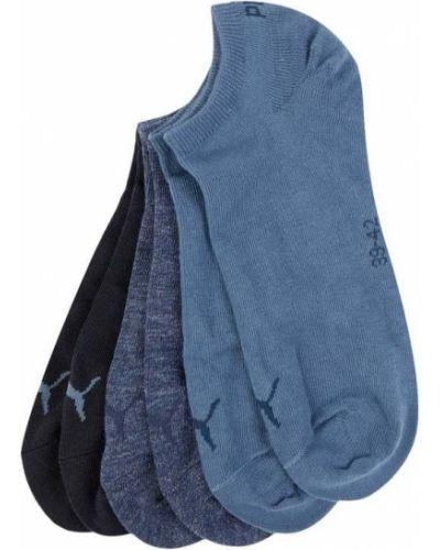 Niebieskie skarpety bawełniane Puma