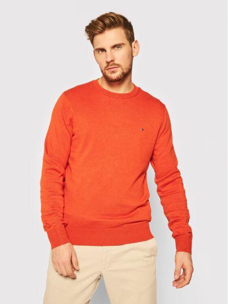 Sweter - pomarańczowy Tommy Hilfiger