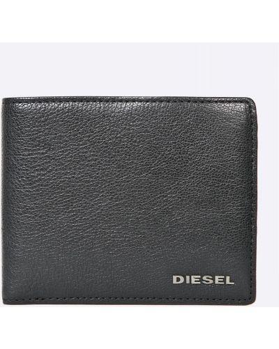 Кошелек кожаный черный Diesel