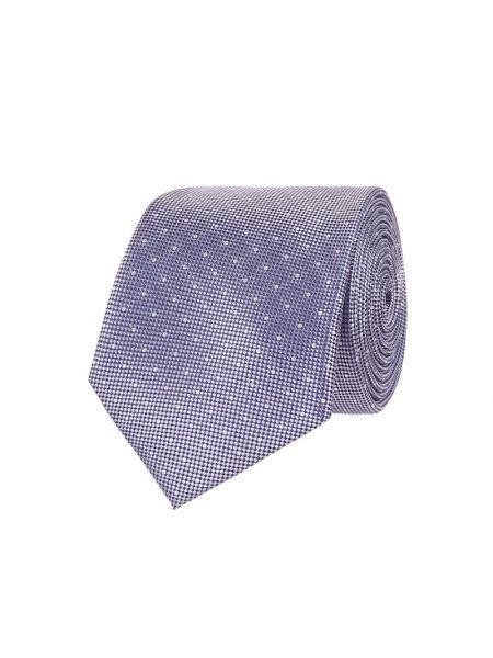 Fioletowy klasyczny krawat z jedwabiu Christian Berg Men
