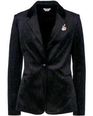 Пиджак черный бархатный Liu Jo
