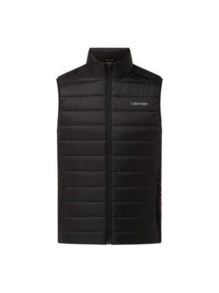 Czarna kamizelka pikowana Ck Calvin Klein