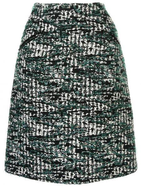 Прямая юбка миди с карманами в рубчик Anteprima