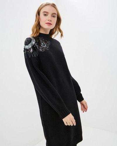 Вязаное платье осеннее трикотажное Zarina