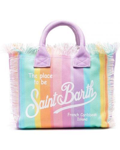 Ватная пляжная розовая косметичка Mc2 Saint Barth Kids