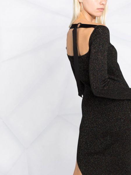 Платье макси длинное - черное Diesel