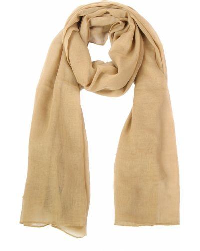 Бежевый шарф осенний Passigatti