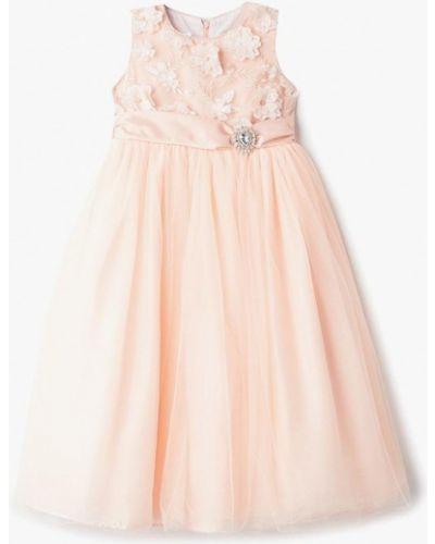 Платье на торжество розовый Bonjour Bebe