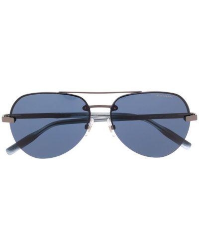 Очки авиаторы черные солнцезащитные Montblanc
