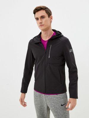 Черная весенняя куртка Anta