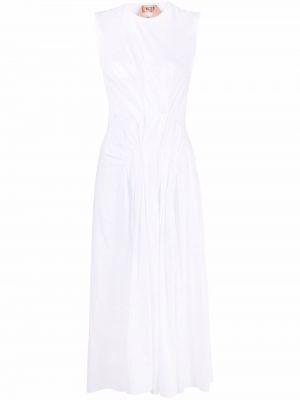 Хлопковое платье - белое N°21