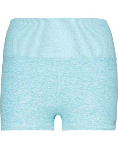 Niebieskie szorty Alo Yoga