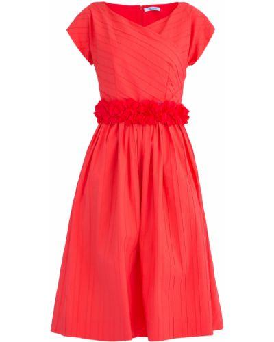Платье с поясом с V-образным вырезом кимоно Blumarine
