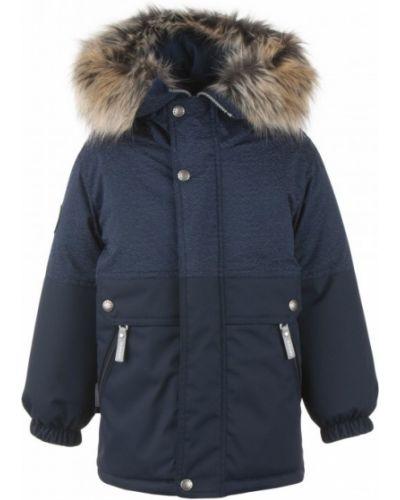 Утепленная куртка из искусственного меха на молнии Kerry
