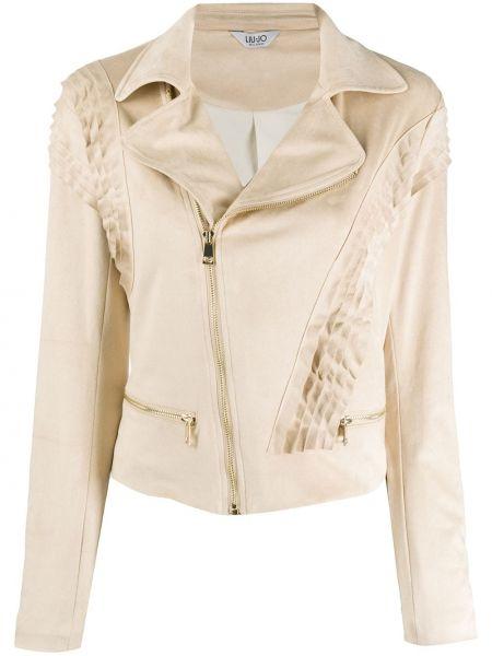 Длинная куртка замшевая с карманами Liu Jo