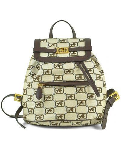 Beżowy plecak Alberta Ferretti