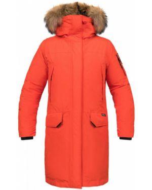 Куртка с капюшоном утепленная спортивная Red Fox
