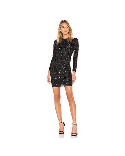 Платье мини с бисером сетчатое Needle & Thread