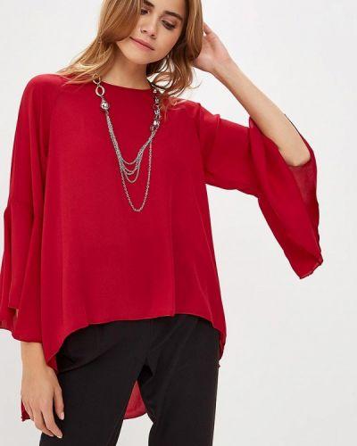 Блузка с длинным рукавом красная Piazza Italia