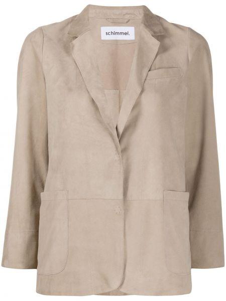 Куртка на кнопках с воротником свободного кроя с карманами Sylvie Schimmel