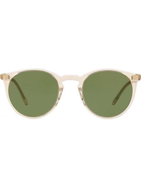 Солнцезащитные очки - зеленые Oliver Peoples