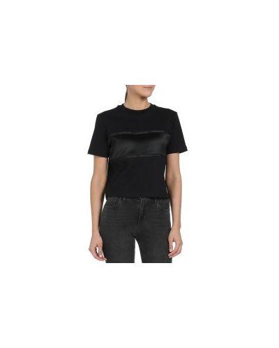 Футболка черная джинсовая Calvin Klein Jeans