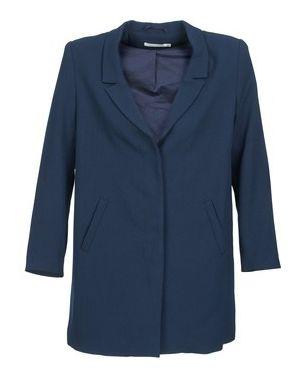 Niebieski płaszcz przeciwdeszczowy See U Soon
