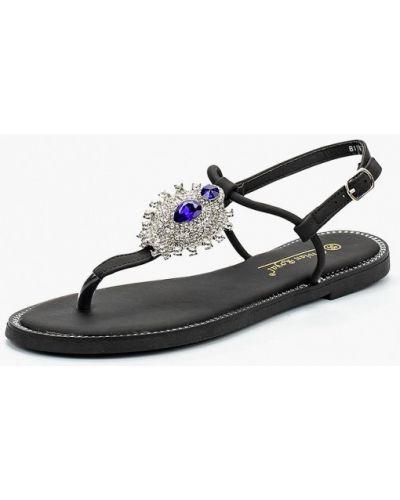 Черные сандалии Vivian Royal