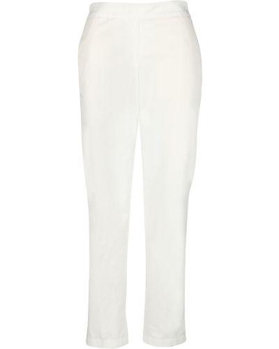 Białe spodnie Momoni