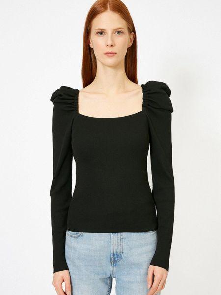 Черный свитер Koton