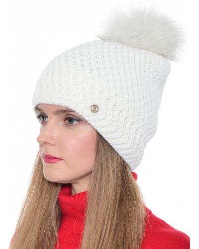 Акриловая белая шапка Bogner