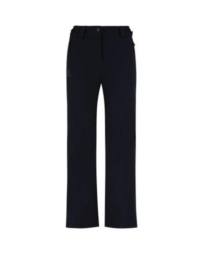 Синие утепленные брюки свободного кроя Salomon