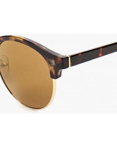 Коричневые солнцезащитные очки Topman