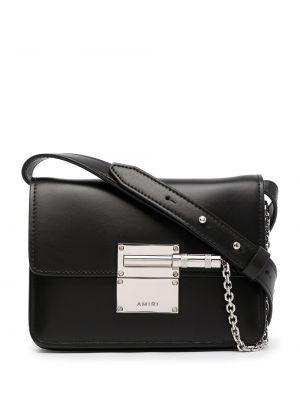 Черная сумка с логотипом Amiri