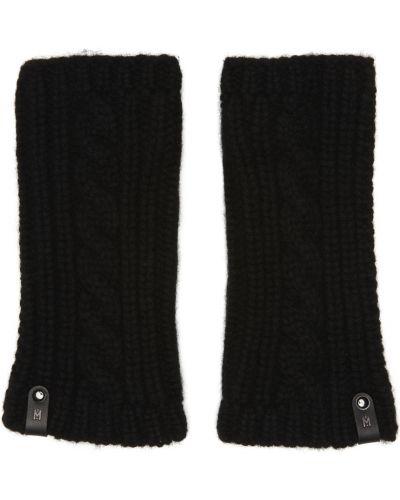 Rękawiczki bez palców - czarne Mackage
