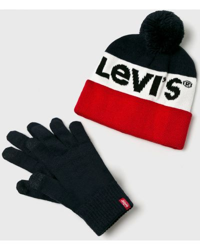 Перчатки зимние с нашивками Levi's®