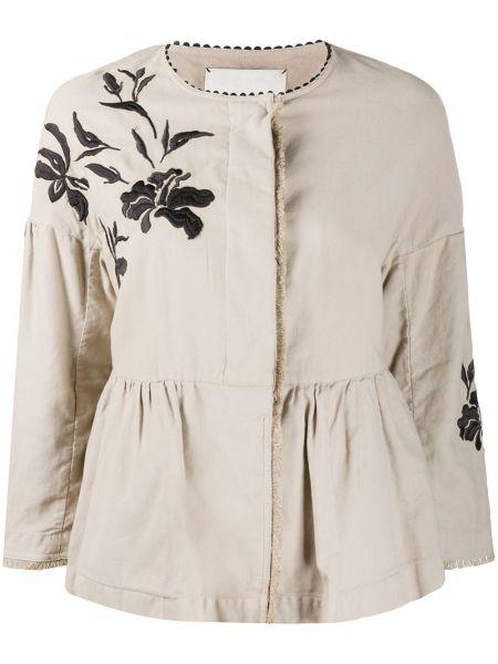 Куртка с бахромой круглая с вырезом свободного кроя Bazar Deluxe
