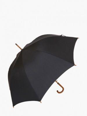 Черный зонт-трость Lamberti
